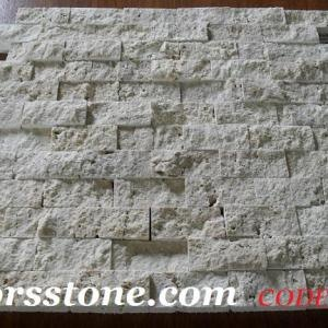 Travertine splitface stone tiles